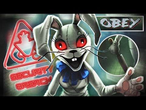 Vanny Offically Revealed (FNAF Security Breach Teaser Analysis)
