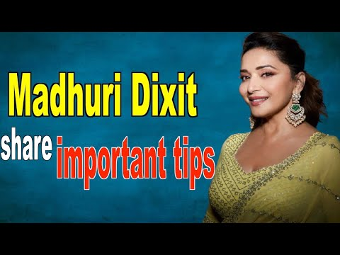 Madhuri Dixit shares how to utilise your time during the lockdown