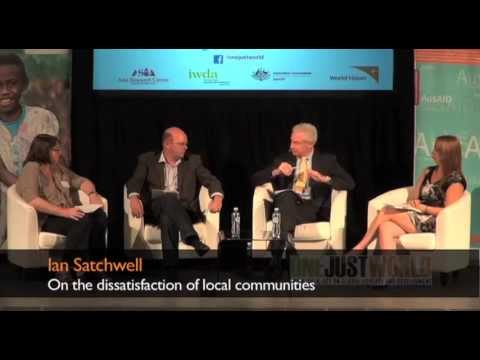 Ian Satchwell on the dissatisfaction of local communities
