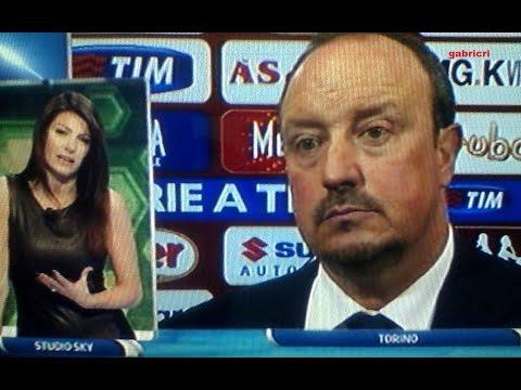 torino vs napoli 1-0 - surreale benitez per poco piange...