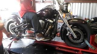 8. 05 Yamaha Road Star Midnight 1700 cc 108 ci big bo