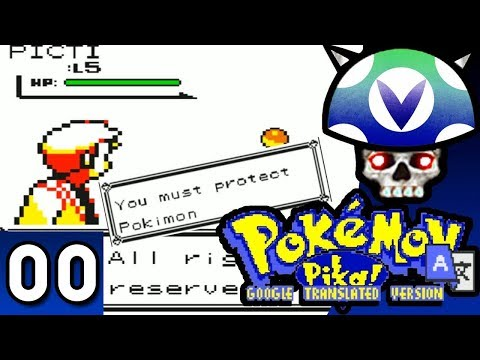 [Vinesauce] Joel - Google Translate Pokemon Version 2.1 ( Part 0 Intro )