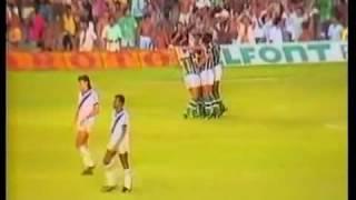 Flu e Vasco se enfrentaram pelas quartas de final do Brasileiro de 1988 (o mata-mata seguiu em 1989). O Vasco tinha a melhor...