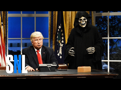 Oval Office Cold Open - SNL (видео)