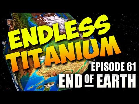 End of Earth | Minecraft Modded Survival Ep 61 | TITANIUM FARM! (Steve's Galaxy Modpack)