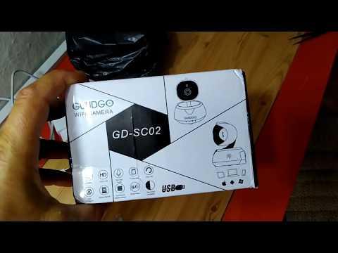 GUUDGO GD-SC02 720P Cloud Wifi IP Camera Pan&Tilt IR-Cut Night Vision