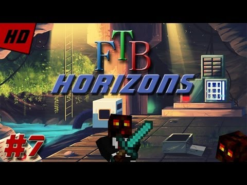 Minecraft Feed The Beast Horizons - Start To Thaumcraft! (Episode 7)
