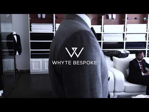 Celebrity Manager Aman Kukreja bespoken by WHYTE BESPOKE