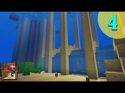 Underwater Tunnel! | Vanilla Minecraft 1.13 Survival Let's Build [Episode 4]