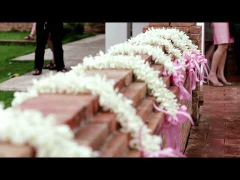 Wedding planner by Arty Studio for Dr. Pat & Dr.Wit's special day at Sukhothai Heritage Resort