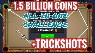 In this Video Awesome trickshots are included - & I HAD STACKED MY 1.5+ BILLION COINS IN