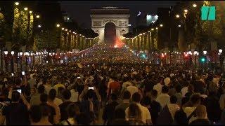 Video La France en finale: Les images des Champs-Élysées en fête MP3, 3GP, MP4, WEBM, AVI, FLV Juli 2018