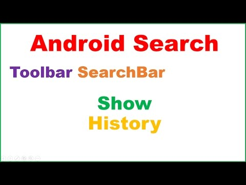 Android Material SearchBar