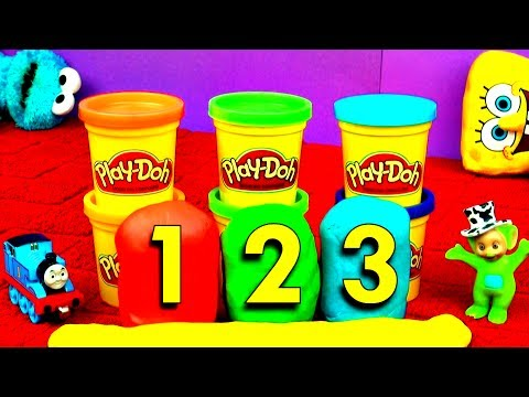 surprise - FluffyJet! Toys & Play Doh! Today we're learning to count with Play-Doh! We're unboxing Play Doh surprise eggs: Mickey Mouse surprise egg, Disney Frozen Prin...