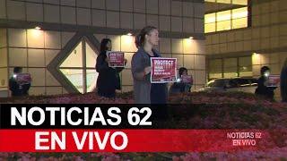 Vigilia en apoyo a doctores y enfermeras en Los Ángeles – Noticias 62 - Thumbnail