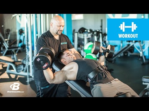 FST-7 Chest & Biceps Workout | Hany Rambod's Ultimate Guide To FST-7
