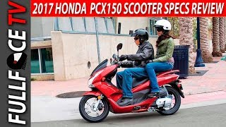 8. 2017 Honda PCX150 Scooter Review and Specs