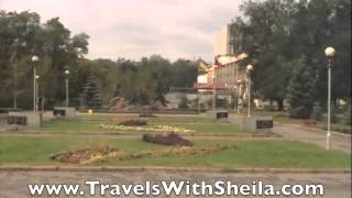 Zaporozhye Ukraine  City pictures : Viking Cruise Lomonosov: City Tour of Zaporozhye, Ukraine