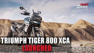 5. 2019 Triumph Tiger 800 XCA Launched in India; Price Starts at ₹15.16 Lakh