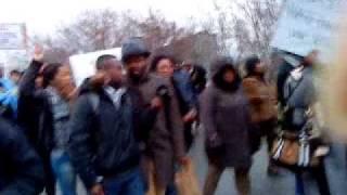 La marche des congolais de Berlin devant Kanzleramt (suite et fin)