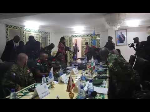 REUNION SUR LA NEUTRALISATION DES GROUPES ARMES TENUE À GOMA DU 13 AU 14 SEPTEMBRE 2019.