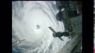 View of Hurricane Lester from the ISS