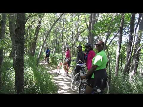 Black Women Do Workout- Mountain Bike Ride
