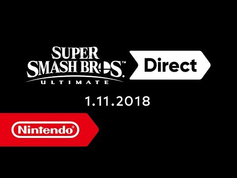 Super Smash Bros. Ultimate Direct – 01.11.2018