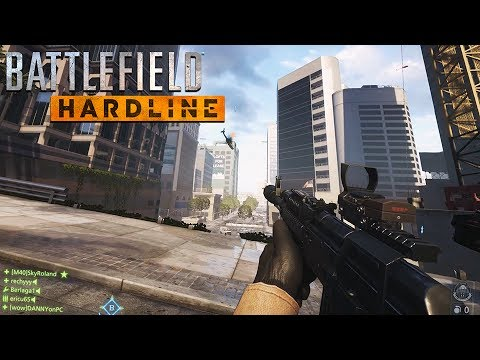 геймплей Battlefield Hardline