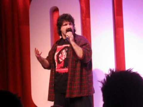 A Day In The Life Meeting Mick Foley at his Standup Comedy Tour Nottingham England November 10th
