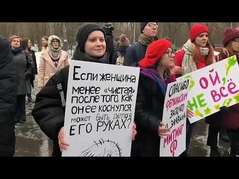 In Moskau machen die Frauen Ernst - Kritik am Weltfraue ...