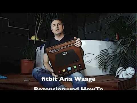 fitbit Körperwaage Aria Wifi mit BMI und Körperfettmessung - Rezension und HowTo