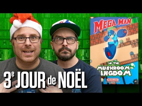 Mega Man in the Mushroom Kingdom (NES) : 3e JOUR de NOËL