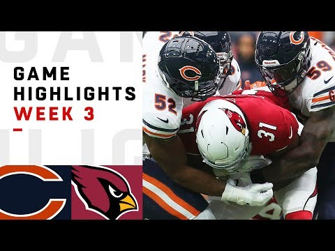 Bears vs. Cardinals Week 3 Highlights | NFL 2018 - Thời lượng: 9:55.