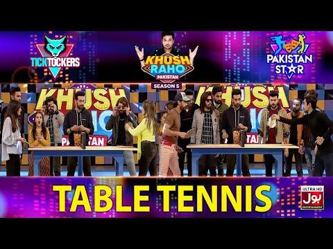 Table Tennis | Khush Raho Pakistan Season 5 | Tick Tockers Vs Pakistan Star | Faysal Quraishi
