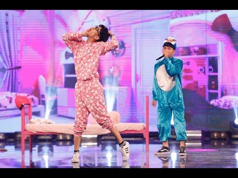 Vietnam's Got Talent 2016 - BÁN KẾT 7 - Beatbox - Popping - Quốc Bảo, Phú Lâm