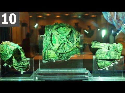 10 UNEXPLAINED ARTIFACTS - How did they get there?