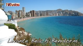Benidorm - Costa Blanca Spain  city pictures gallery : Benidorm Levante Beach Costa Blanca Spain (Tour)