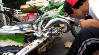 9. How to change clutch on a dirtbike! HD