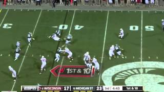 Russell Wilson vs Michigan State (2011)