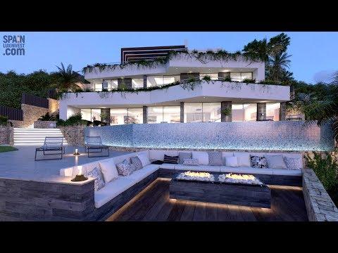 Люксовая вилла с потрясающим видом на море в стиле Hi-Tech в Бениссе (Кальпе, Коста Бланка)