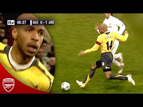 Thierry Henry Vs Real Madrid (Champions League, 2006)
