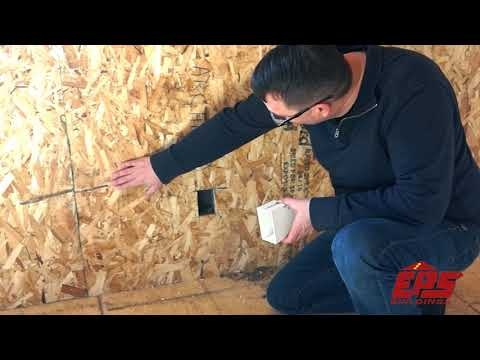 Electrical Wiring in SIPs