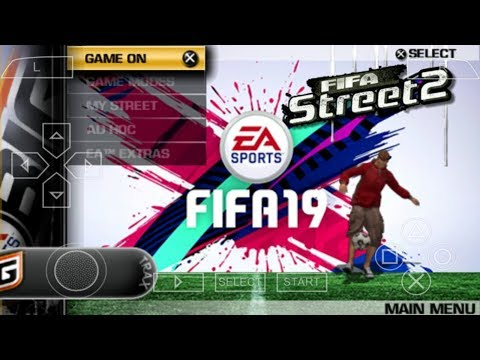FIFA Street 19 PPSSPP Android Offline 70MB Best Graphics