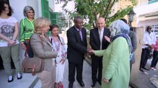 <h5>Highness visiting Refugee Camp in Lebanon</h5>