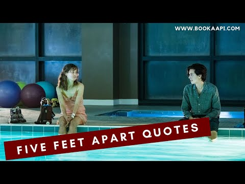 8 Best Five Feet Apart Quotes from Rachael Lippincott