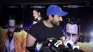 Kareena Kapoor Khan, Saif Ali Khan Arrive Hand In Hand At Kaalakaandi Screening