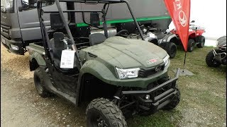8. 2017 Kymco UXV 700i 4x4 Turf LOF - Exterior and Interior - Abenteuer Allrad Bad Kissingen 2017