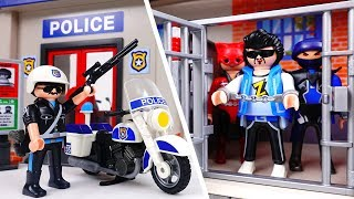 Video Bad Guy Escape From Police Station~! Amusement Park is in Danger MP3, 3GP, MP4, WEBM, AVI, FLV Desember 2017