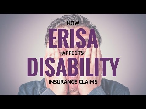 Disability FAQ: How ERISA Affects Disability Insurance Claims